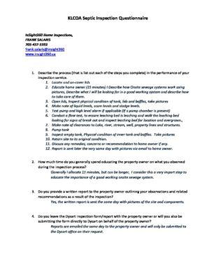 Kennisis Lake Cottage Owners Association Fs1