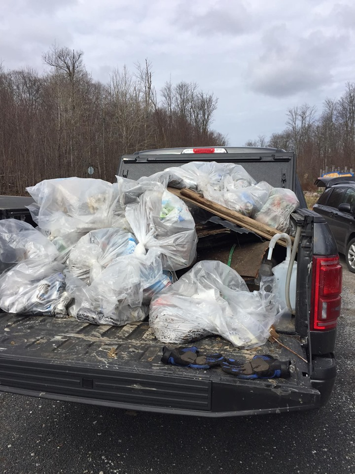 Roadside Cleanup Completed