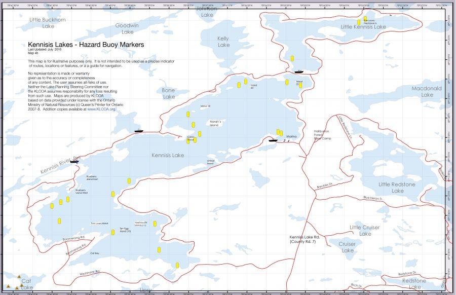 Navigational Aids Kennisis Lake Cottage Owners Association
