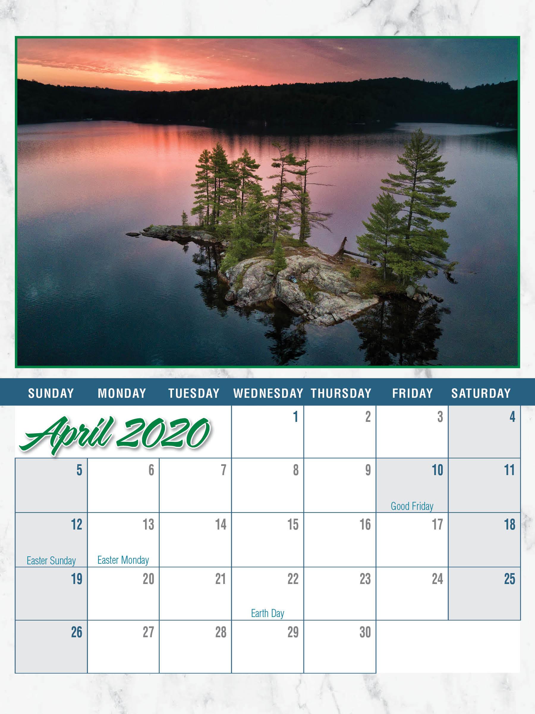 KLCOA Order your 2020 Calendars NOW!